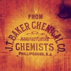 """That """"Chemists"""" type is dandy. #typehunter #typeresearch #crate"""
