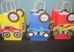 New Monster Truck Birthday Party Ideas Food Products Ideas Monster Truck Cookies, Monster Trucks, Monster Truck Birthday, Monster Jam, Monster Party, Cars Birthday Parties, Art Birthday, Birthday Party Favors, Birthday Party Decorations