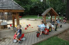 natural playgrounds preschool - Google Search