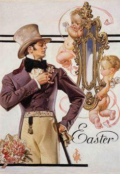 Easter by  J C Leyendecker (German/American 1874- 1951)