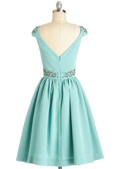 Shindig by the Skyline Dress in Aqua | Mod Retro Vintage Dresses | ModCloth.com