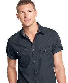 Kalamaplaid S/S Shirt - Men's - Short Sleeve Shirts - JMS21061-239 ...