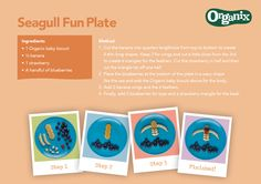 Have fun with your little one and explore new foods with our seagull fun plate #OrganixFoodfun