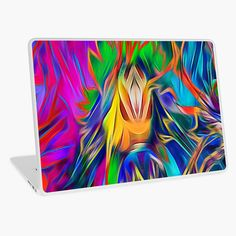 Digital abstract art, available on laptop skin and other tech accessories #arankaarts #redbubble #findyourthing #laptopskin #techaccessories #digitalart #abstractart Macbook Air 13, Light Art, Laptop Skin, Tech Accessories, Vibrant Colors, Abstract Art, Digital Art, Iphone Cases, Tapestry