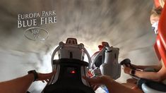 Europa Park Blue Fire (Rollercoaster) 360° VR POV Onride Roller Coaster, Park, Youtube, Blue, Europe, Roller Coasters, Parks, Youtubers, Youtube Movies