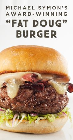 burger recipes Impress your barbecue crowd with this three-time award-winning burger recipe from Michael Symon. Topped with melted Creamy Havarti and thinly sliced pastrami, this burger is always a step above the rest. Gourmet Burgers, Burger Recipes, Grilling Recipes, Wine Recipes, Beef Recipes, Great Recipes, Cooking Recipes, Favorite Recipes, Burger Toppings