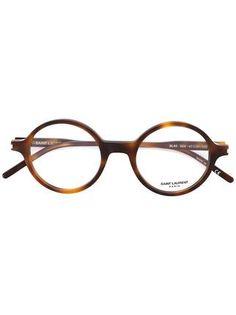 adfc93fa54 Saint Laurent lunette de vue à monture ronde Lunettes De Vue Femme Rondes,  Lunettes De