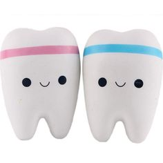 Aliexpress Novelty Toy Squishy Tooth Slow Rising Kawaii Soft Squeeze Cute Cell Phone Strap Toys Kids Baby Gift Random Color on Aliexpress IFound Baby Color gift Kawaii Tooth toys Stress Toys, Stress Relief Toys, Squishies, Tooth Cartoon, Cartoon Unicorn, Slime And Squishy, Bread Squishy, Teeth Shape, Swag