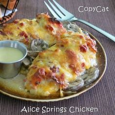 Alice Springs Chicken CopyCat Recipe | www.dinner-mom.com