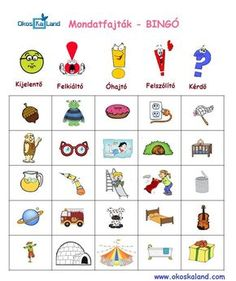 Tanulásmódszertan :: OkosKaLand Dysgraphia, Busy Bags, Creative Teaching, Bingo, Grammar, Einstein, Literature, Playing Cards, Language