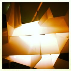 Modern cubic light fixture