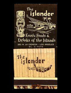 "Arkiva Tropika - Tags - ""tiki""  the islander LA"