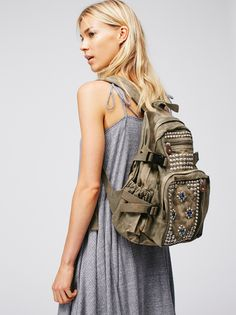 Harlow Studded Backpack