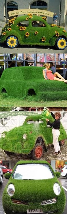 The world's most environmentally friendly car https://www.facebook.com/pages/Peace-Love-Planet/170229049903
