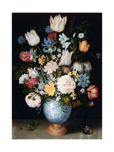 Bouquet of Flowers, 1609 Giclée-tryk by Ambrosius Bosschaert the Elder at eu.art.com