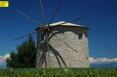 Windmill at Kavalos (Heartland of the interior), excursions, Lefkada