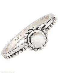 Playful. Stackable. Adorable. Wear one on each finger or stack together for an artsy look. Pearl, Sterling Silver. $24.00 click here to purchase or shop my website at http://mysilpada.com/coni.otto