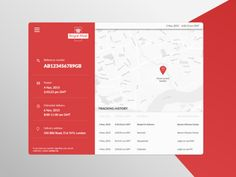 Delivery tracking screen - Royal Mail designed by K. Connect with them on Dribbble; Gui Interface, Interface Design, Dashboard Ui, Dashboard Design, Flat Design, App Design, Wireframe Design, Human Centered Design, Ui Design Inspiration