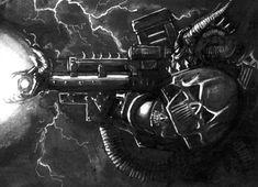 Chaos Space Marines Warhammer 40k Art, Space Marine, Marines, Sci Fi, Science Fiction
