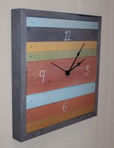 MADE TO ORDER  Reclaimed Wood Multi Color by RusticWoodOriginals, $60.00