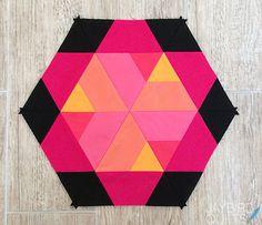 Jaybird Quilts: Sweet Tooth Block 10 - Candy Corn