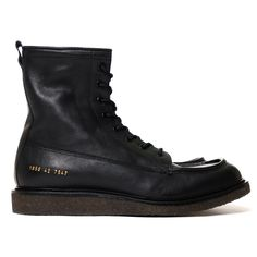 Common Projects Mechanic's Boot Black