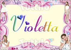 Violetta: Marcos para  fotos