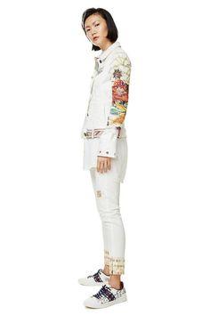 Exotic White Jacket