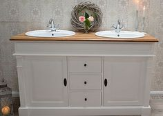 Badezimmermöbel vintage ~ Liebevoll aufgearbeitete antike badmöbel im landhaus vintage