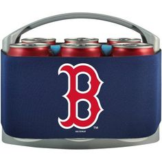MLB Boston Red Sox Cool 6 Cooler, Multicolor