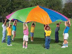 Rainbow Parachute - 6'