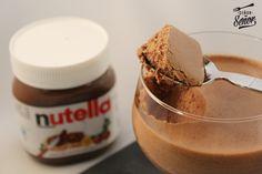 Mousse de Nutella. La receta paso a paso