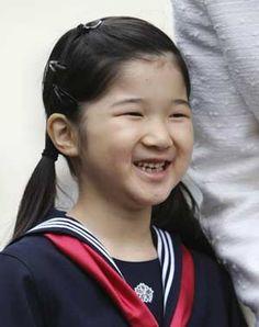 Aiko, Princess Toshi of Japan, daughter of Crown Prince Naruhito and Crown Princess Masako