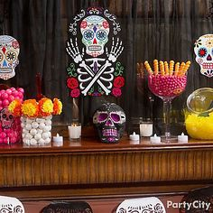 Day of the Dead Party Ideas for a Skeletal Soiree - Party City