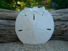 Sand Dollar Sparkle OrnamentBeach Wedding by sandnsurfcreations, $11.95