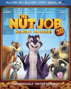 The Nut Job On DVD Review, Recipe, Giveaway & FREE Printables For Kids  @Heather Brummett