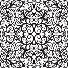 Azulejo Adesivo : AZ075   Arabesco Design   Elo7