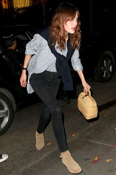 """alexachung: """" Alexa Chung at Chateau Marmont in Los Angeles on 9 April 2014. """""""
