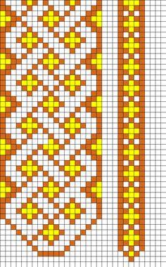 Bookmark Designs Perler Bead Pattern