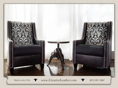 For three decades, Creative Leather has been committed to handcrafting the finest quality custom leather furniture in the Southwest. Leather Furniture, Custom Furniture, Chair And Ottoman, Wingback Chair, Custom Leather, Italian Fashion, Crisp, Milan, Love Seat