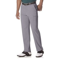 Men's Chaps Classic-Fit Performance Cargo Golf Pants, Size: 40X34, Grey