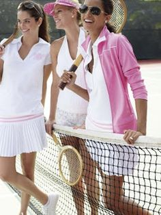 Tennis at the country club