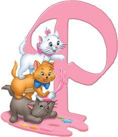 P Aristocats Alphabet (Oh My Alfabetos!)