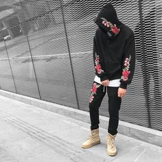 Rose Hoodie x Rose Joggers. 3 colors available. Choose your best outfits from @urkoolwear. High quality best style and best price. order at www.urkoolwear.com worldwide shipping. Low shipping fee.