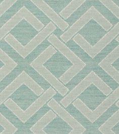 Home Decor Upholstery Fabric-Crypton Interlock-Seafoam