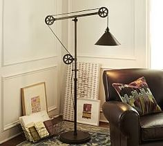 Floor Lamps, Standing Lamps & Floor Standing Lamps   Pottery Barn