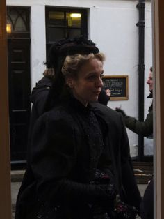 Setlock 2015. This picture terrifies me --- are those mourning clothes?