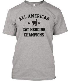 All American Cat Herding Champions -