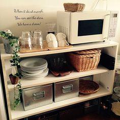 Kitchen Drawer Organization, Diy Kitchen Storage, Home Organization, Organizing, Apartment Kitchen, Kitchen Interior, Diy Pallet Furniture, Home Furniture, Muji Home