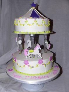 Carousel Cakes : 2014 Cake Designs Ideas